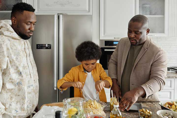 Family Master Chef - Everybody gets involved