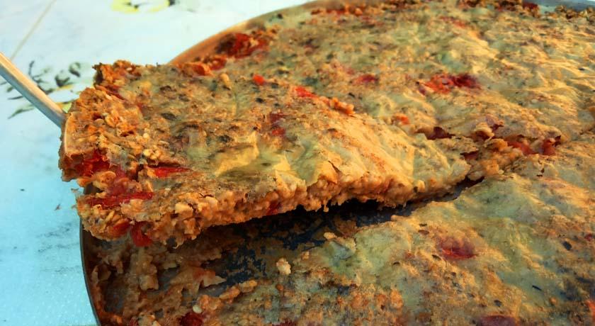 Pizza Prática de Aveia