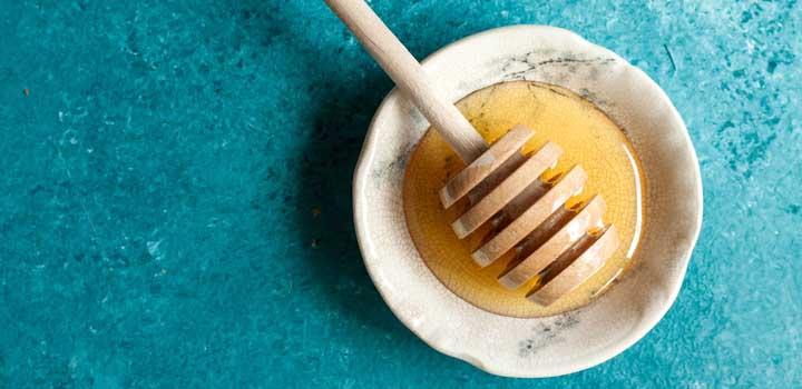 Uma tigela de mel