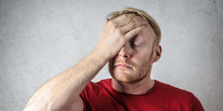 Estresse causa problemas mentais.
