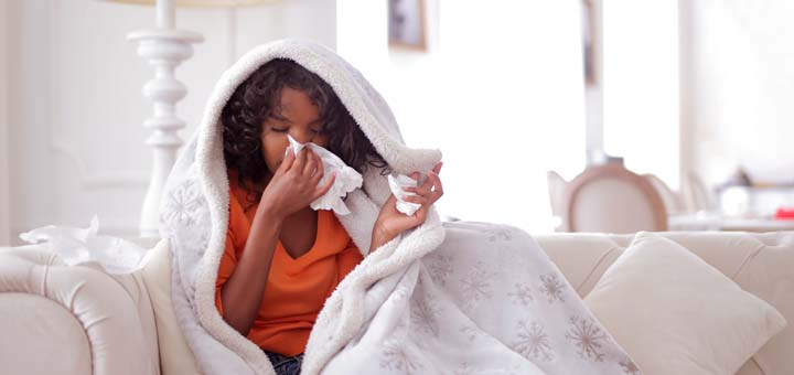 Níveis elevados de cortisol podem torná-lo suscetível a resfriados.