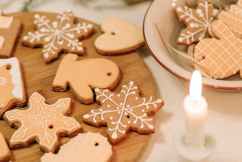 Biscoitos com mel