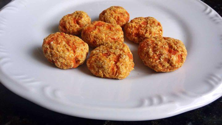 Pão de Cenoura sem Fermento e sem Gluten