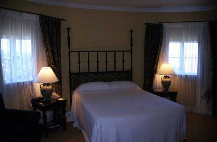 Um quarto de dormir silencioso